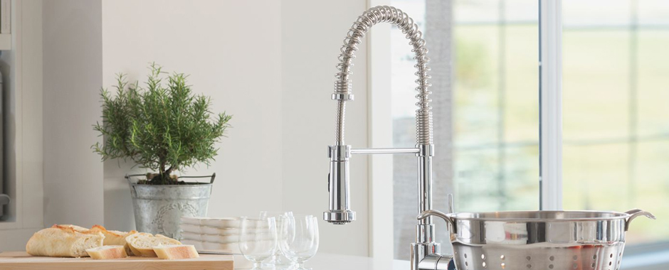 Choosing The Right Kitchen Sink and Faucet for Your Countertop