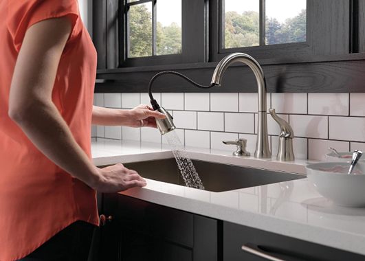 Delta Kate 16970-SSSD-DST – Best Single Handle Kitchen Faucet
