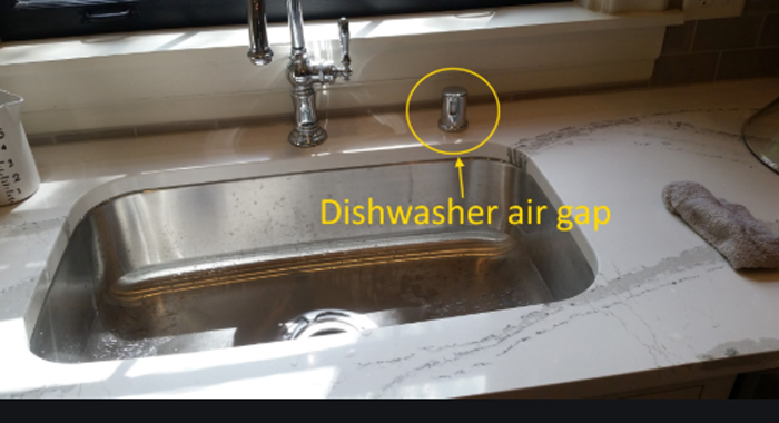 Air Gap Fitting For Dishwasher
