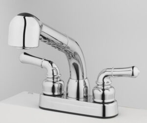 ow to Install Utility Sink Faucet with Pulldown Sprayer