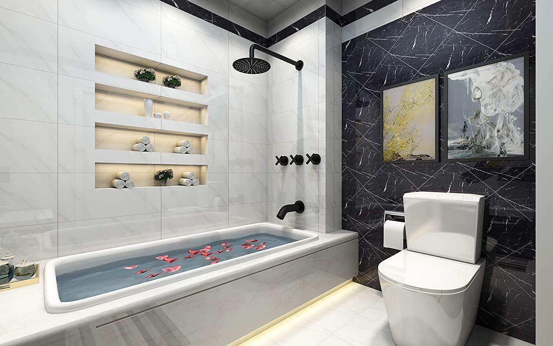 best 3 handle shower faucet