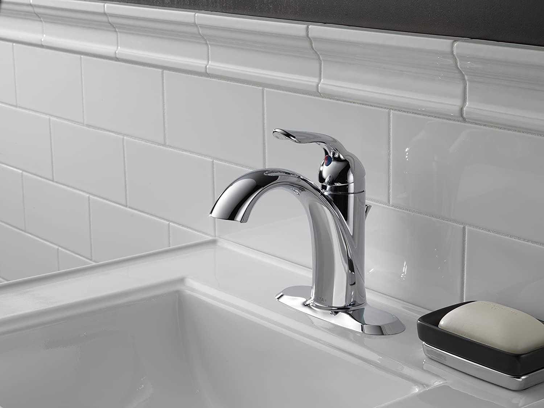 best single hole bathroom faucets