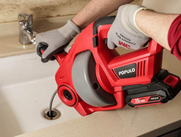 best drain auger for kitchen sink